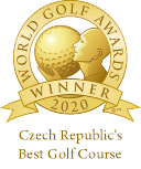 Czech Republic's best course 2020, click to learn more on the worldgolfawards site.
