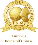 Europe's best course 2020, click to learn more on the worldgolfawards site.